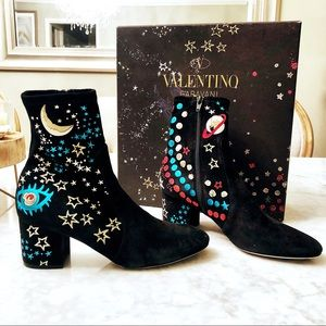 Valentino Astro star boots booties 38.5